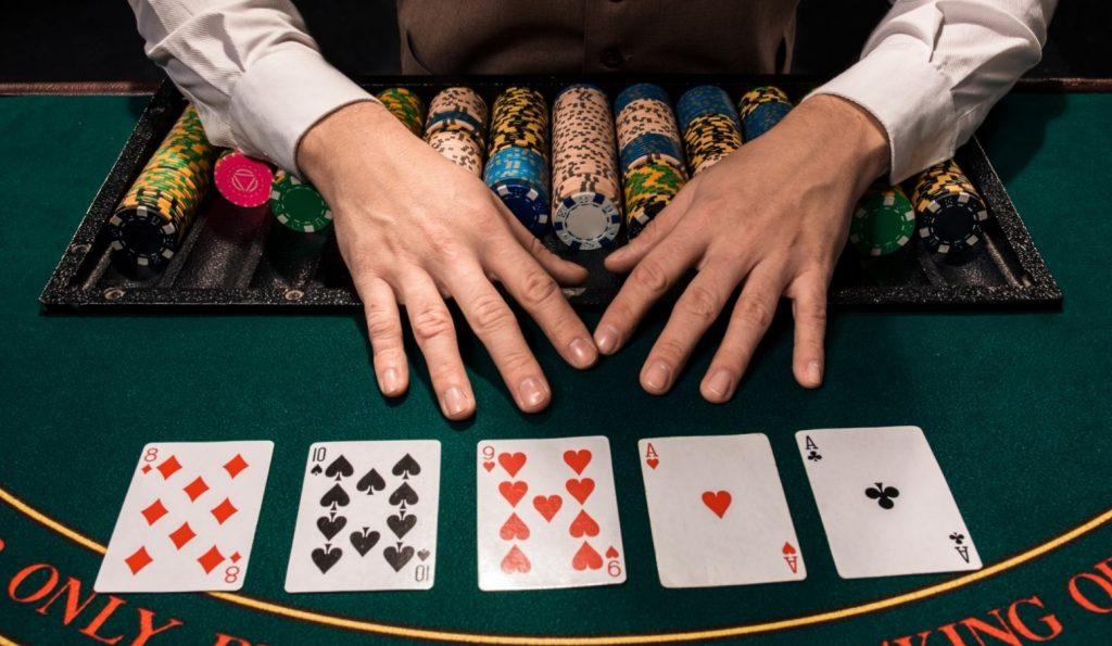 Setting poker